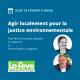 Webinaire – Agir localement pour la justice environnementale